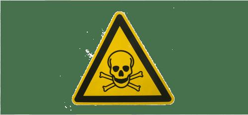 Een sticker is een waarschuwing. 2